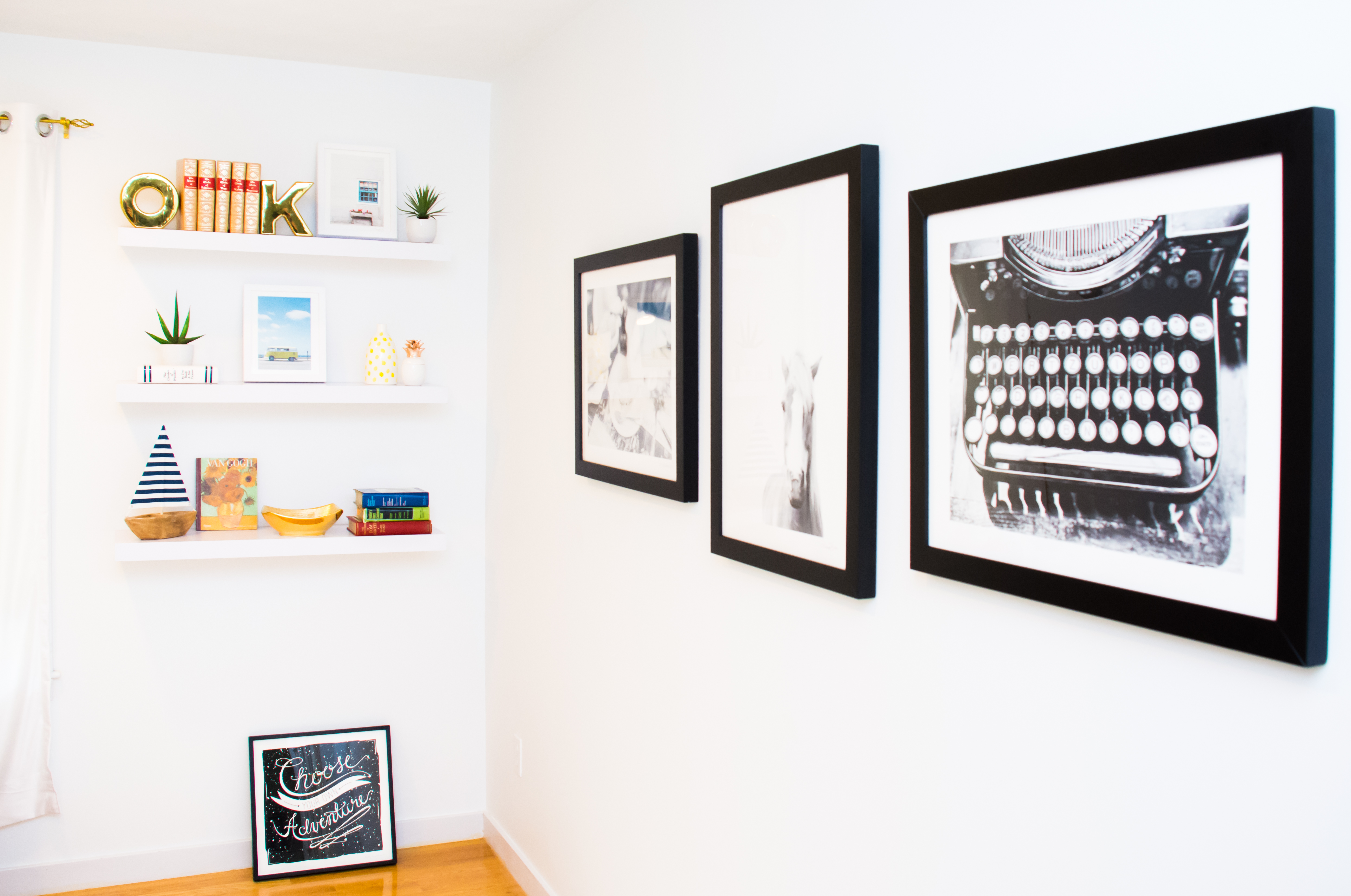 decorating the home office with art
